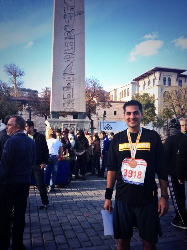 35th Vodafone Istanbul Marathon, November 2013