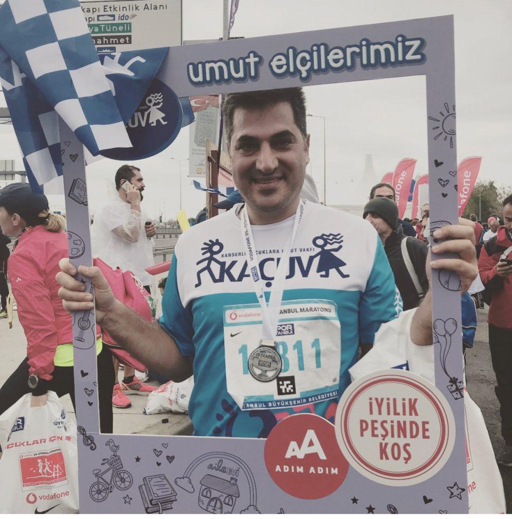 39th Vodafone Istanbul Marathon, November 2017