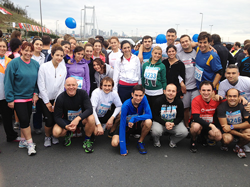 34th Vodafone Eurasia Marathon, November 2012